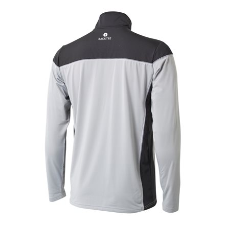 Backtee Zipneck herre baselayer